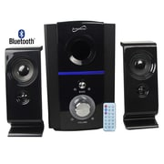 Supersonic® SC-1126 2.1 Bluetooth Multimedia Speaker System With With USB/SD and Remote