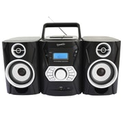 Supersonic® SC-806BT Bluetooth MP3/CD Player With USB/SD/Aux & AM/FM Radio, Black