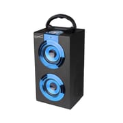 Supersonic® SC-1321 Portable Rechargeable Speaker With FM Radio, Blue