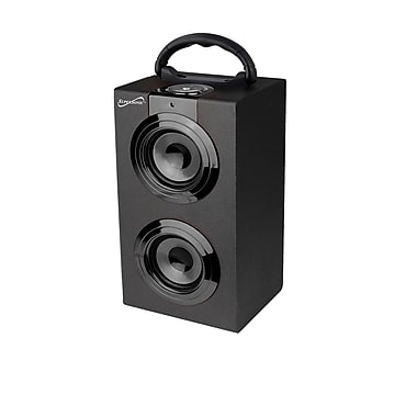 Supersonic® SC-1321 Portable Rechargeable Speakers With FM Radio