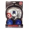 Supersonic® Rockerz 2 In 1 Deep Bass Stereo Earbud/Headphone Pack, Blue