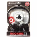 Supersonic® Rockerz 2 In 1 Deep Bass Stereo Earbud/Headphone Pack, Black