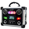 Supersonic® SC-1383 LCD Display Portable Rechargeable Speaker With FM Radio