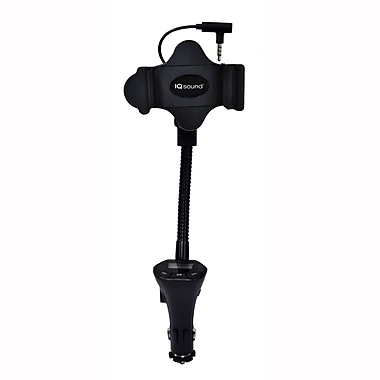 Supersonic® IQ-217 FM Transmitter & Charger/Car Mount System
