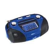 Supersonic® SC-1396 High Performance Portable Mp3 Speaker W/USB/SD/Aux, Blue