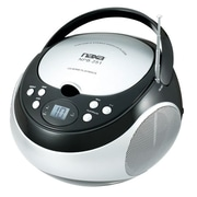 Naxa® NPB-251 Portable CD Players with AM/FM Stereo Radio