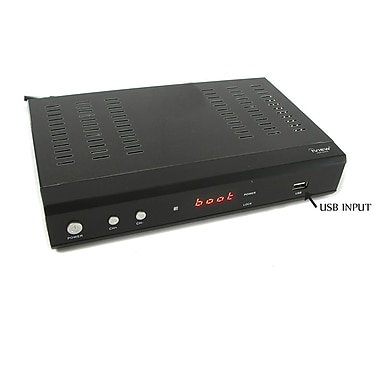 iView® 3500STB Media Player/Digital Converter Box With Recording/MKV Format Compatible