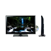 Axess® 24 1080p AC/DC LED Digital HDTV With DVD Player, Black