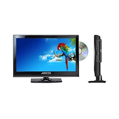 Axess® 13.3in. LED AC/DC TV With DVD Player