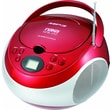 Naxa® NPB-252 MP3/CD Player With AM/FM Stereo Radio, Red