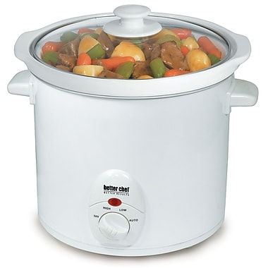 Better Chef® 3 Quart Slow Cooker With Removable Stoneware