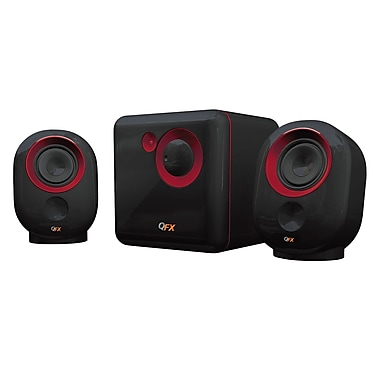 QFX CS-68 2.1 Channel Active Multimedia Speaker With Subwoofer