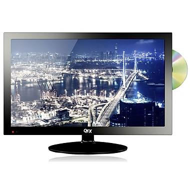 QFX 24in. LED TV With ATSC/NTSC TV Tuner Built In DVD Player