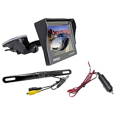 Pyle® PLCM4700 4.7in. Window Suction Mount TFT/LCD Monitor Backup Color Camera w/Distance Scale Line