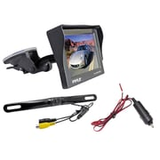 Pyle® PLCM4700 4.7 Window Suction Mount TFT/LCD Monitor Backup Color Camera w/Distance Scale Line