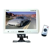 Pyle® PLHR97 9 TFT LCD Headrest Monitor With Stand, White