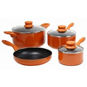 Gibson Colorsplash® 7 Piece Set Branston Nonstick Aluminum Cookwares