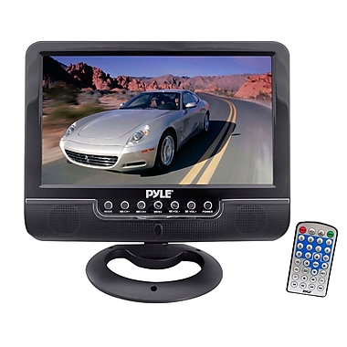 Pyle® PLMN7SU 7in. Universal Multimedia Monitor With USB/SD Card Readers/AV Input/AV Output