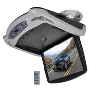 Pyle® PLRD145 13.3 Roof Mount TFT LCD Monitor With Built In Multimedia Disc, Gray/Black/Tan