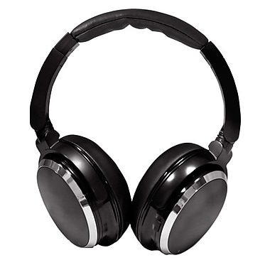 Pyle® Comfort Zone Sound High Fidelity Noise Canceling Headphones With Carrying Case, Black