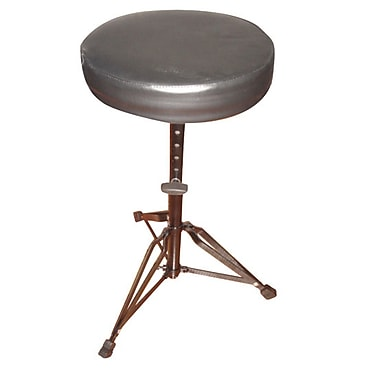 Pyle® 17in.-24in. Double Braced Folding Padded Drum Throne/Keyboard Bench/Guitar Stool