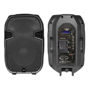 Pyle® PPHP127AI 12 1200 W 2 Way Full Range PA Speaker w/Built In iPod Dock USB SD & Remote Control