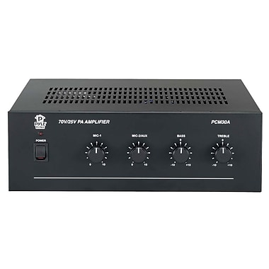 Pyle® PCM30A 60 W Power Amplifier With 25 and 70 Volt Output
