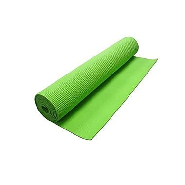 GameFitz GF-1087 Yoga Mat For Nintendo Wii Fit, Green