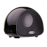 QFX BT-100 Bluetooth Speaker With Microphone, Black