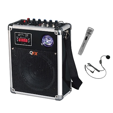 QFX PBX-2008-1 300 W Battery Powered PA Speaker