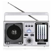 QFX R-6U AM/FM/SW1-SW7 Radio With USB