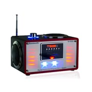 QFX R-42US Radio With USB/SD/Built-in Disco Light