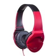Pioneer® Fully Enclosed Dynamic Headphones With Powerful Bass For True Clubbing, Red