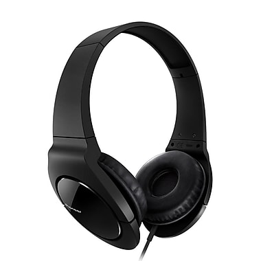 Pioneer® Fully Enclosed Dynamic Headphones With Powerful Bass For True Clubbing, Black