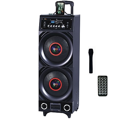 QFX PBX-3011BT 800 W Battery Powered Bluetooth PA Speaker