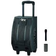 QFX PBX-40801BT Bluetooth PA Speaker With USB/SD, Black