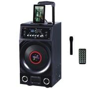 QFX PBX-3010BT 600 W Battery Powered Bluetooth PA Speaker