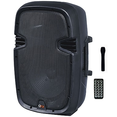 QFX PBX-3020BT 450 W Battery Powered Bluetooth PA Speaker