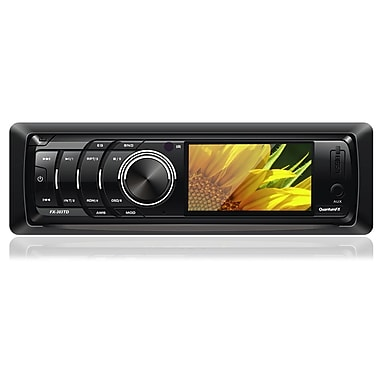QFX 303TD 3 1/2in. TFT LCD Screen Display Digital Multimedia Player, Black