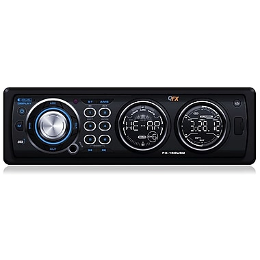 QFX 158USD Multimedia Stereo Player With DVD/CD/USB/SD, Black