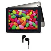 Supersonic 9.7 Tablet, 8 GB, Android Jelly Bean, Wi-Fi, Gray