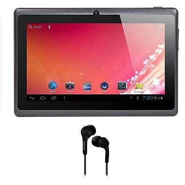 Axess® 7in. 4GB Tablet With Android 4.1, Black Bundle