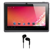 Axess® 7 4GB Tablet With Android 4.1, Black Bundle