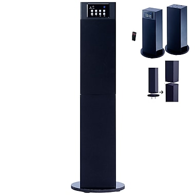 Craig® CHT914C Stereo Home Theater/Tower Speaker System With Bluetooth Wireless Technology