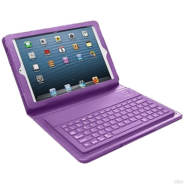 Bluetooth Keyboard Case For iPad Mini, Purple