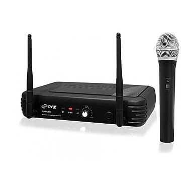 Pyle® PDWM1800 Premier Series Professional UHF Wireless Handheld Microphone System, Black