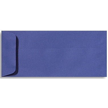 LUX Peel & Press - #10 Open End Envelopes (4 1/8 x 9 1/2) - 500/Box - Boardwalk Blue (EX7716-23-500)