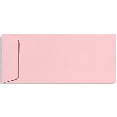 LUX® 4 1/8in. x 9 1/2in. #10 70lbs. Open End Envelopes, Candy Pink, 50/Pack