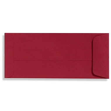 LUX Peel & Press #10 Open End Envelopes (4 1/8 x 9 1/2) 250/Box, Garnet (EX7716-26-250)