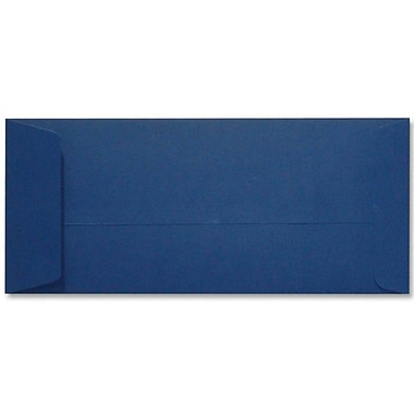 LUX Peel & Press #10 Open End Envelopes (4 1/8 x 9 1/2) 250/Box, Navy Blue (LUX-7716-103-25)